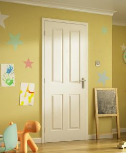 4 Panel Interior Moulded Doors