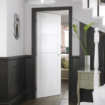 4 Panel Interior Moulded Ladder Style Doors