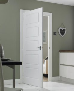 5 Panel Interior Moulded Ladder Style Doors
