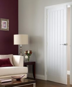 5 Panel Vertical Interior Moulded Doors